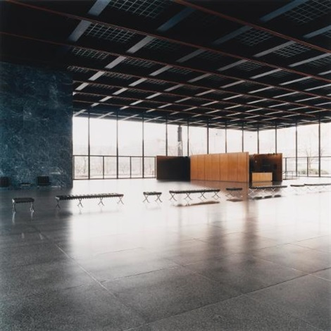 neue nationalgalerie berlin ii by candida höfer