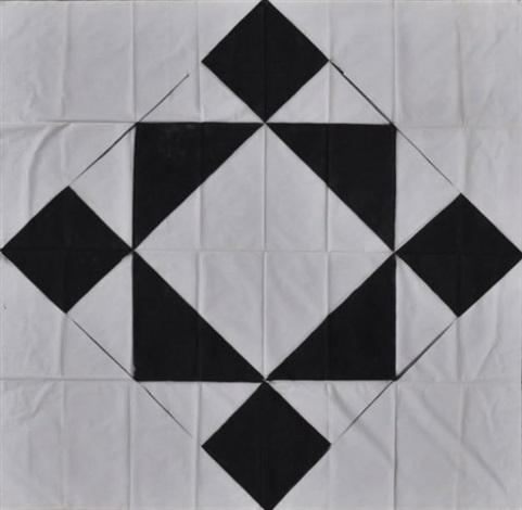 composition noire et blanche by andré pierre arnal