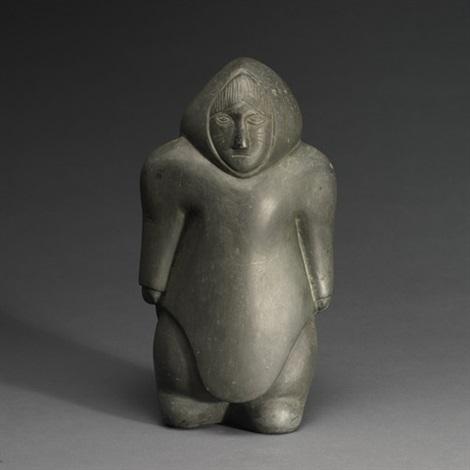 standing woman by effie angalitaaq arnaluaq