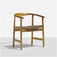 armchair, model pp203 by hans j. wegner