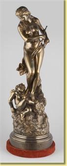 vénus désarmant l'amour by pierre-etienne daniel campagne