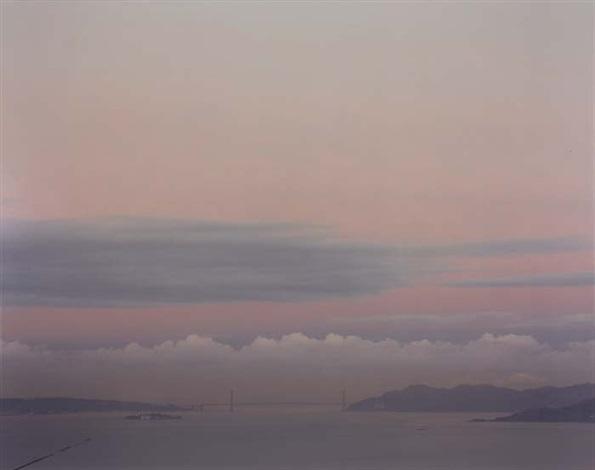Golden Gate Bridge 2-24-00, 650 A M  by Richard Misrach on