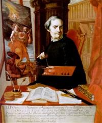 porträt des acisclo antonio palomino de castro y velasco by juan baptista simo