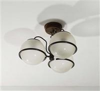 due lampade by gino sarfatti
