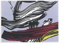 brushstrokes by roy lichtenstein