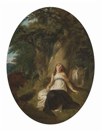 una and the lion by robert smirke