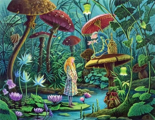 Alice au pays des merveilles contes aux quatre vents by - Decoration alice aux pays des merveilles ...