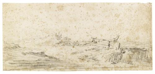 dune landscape with a bridge by jan josefsz van goyen