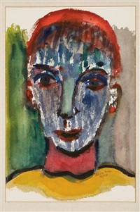 head of man by henry miller