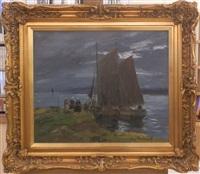 les barques by serge kislakoff