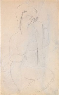nu by amedeo modigliani