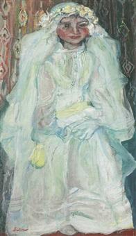 la communiante (la mariée) by chaïm soutine