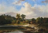 river scene by joseph quinaux