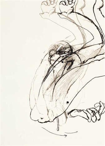 swinging monkey 1 by brett whiteley