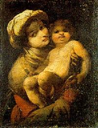 madonna con bambino by giovanni battista spinelli