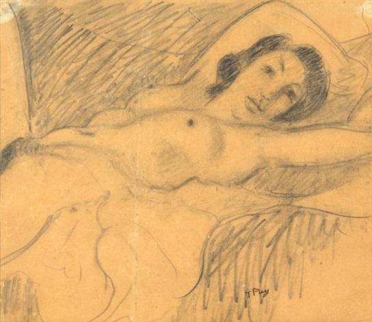 femme nue by jean puy