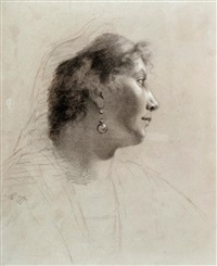 profile of a woman by maria wiik