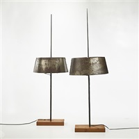 pair of table lamps by j.p. mignon