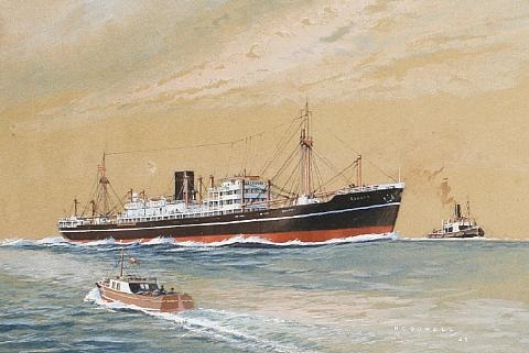 the mv soudan by william mcdowell