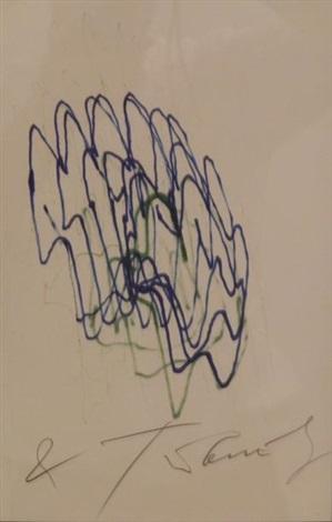 méta matic n°6 bleu vert by jean tinguely