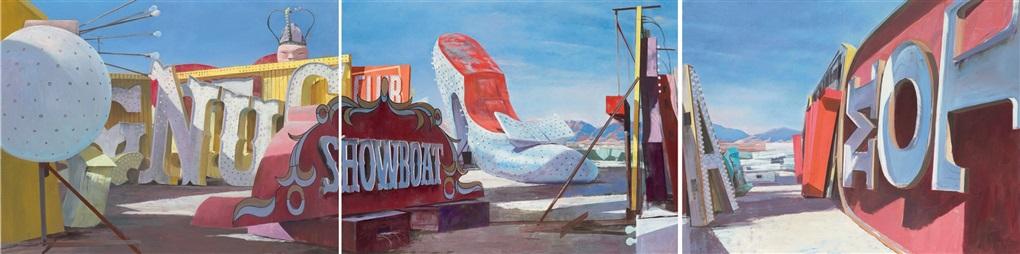 showboat triptych by adam cvijanovic