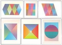 aurora i-vi (6 works) by hilde snapnick