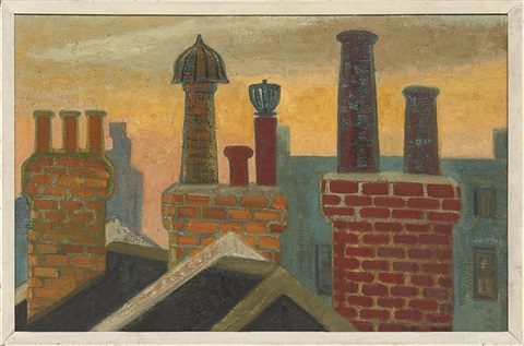 chimneys holly mount hampstead 2 others 3 works by anne e christopherson