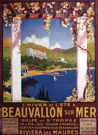 beauvallon sur mer by georges dorival