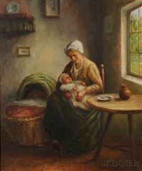 mother and child by hans eybergen