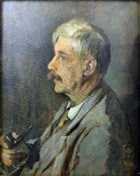 shoulder length portrait of arthur clifton by claire attwood
