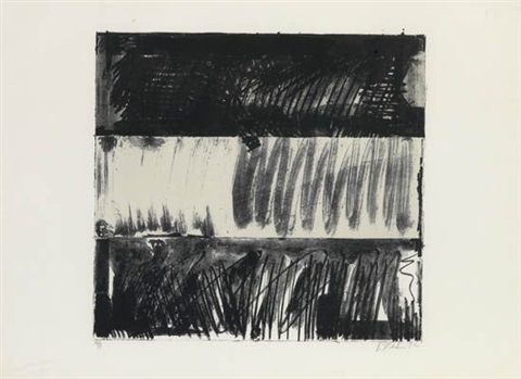 untitled press series by brice marden