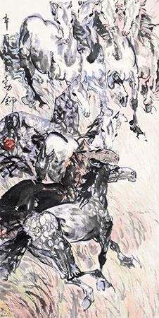 八骏图 by liu boshu