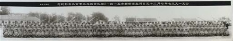 june 23 1997 hebei province handan city pla regiment 5141 fourth artillery squadron group photograph of officers and soldiers by zhuang hui