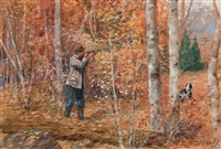 fall bird hunting by olaf c. seltzer