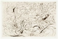 untitled (p19) by jackson pollock