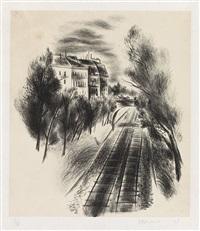 railroad by yasuo kuniyoshi