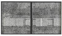 fence ii (in 2 parts) by richard artschwager