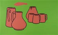 earthenware by patrick caulfield