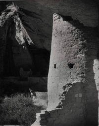 round tower house, mesa verde by laura gilpin