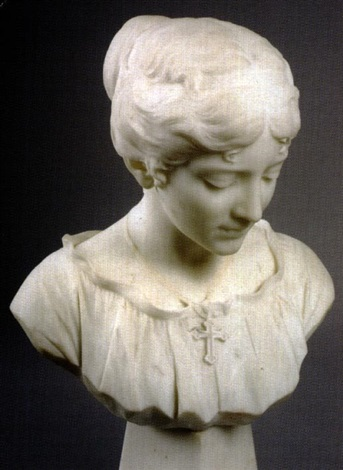 bust of evangeline by f saul