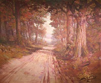 road to the lake by william c. emerson