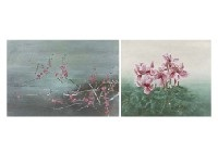 red plum (+ cyclamen; 2 works) by katsuya nasu