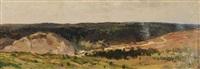 panoramic landscape by yuri vladimir nikolaevich anokhin