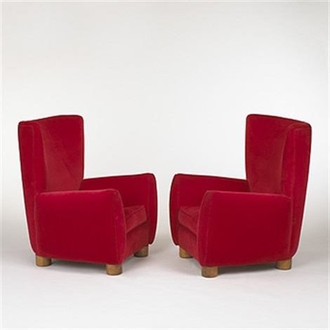 Relax Chairs (pair) By Jean Royère