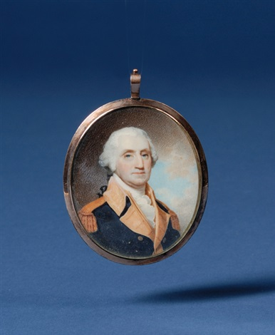miniature of george washington by robert field