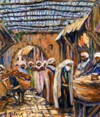 souk couvert à marrakech by bruno retaux
