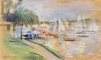 wannsee by max liebermann