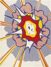 explosion (from portfolio 9) by roy lichtenstein