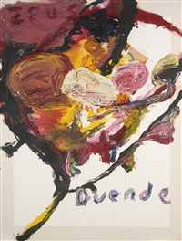 untitled (zeus duende) by julian schnabel