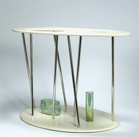 Table basse vase blister by andrea branzi on artnet for Table basse 40 cm largeur